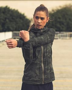 Lululemon Rise and Shine jacket in Camo. I need this but it's sold out everywhere. - want
