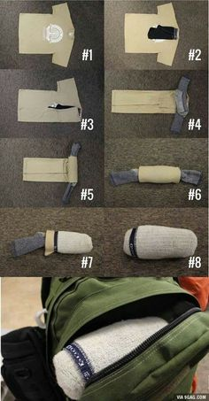 How to pack the right way