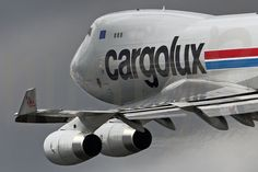 Cargolux 744 @ Luxemburg by nustyR AirTeamImages