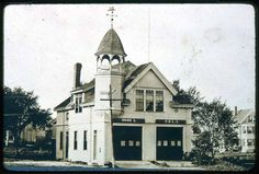 Saugus Center, Built 1890, Hose House, Woodbury Avenue · Saugus Public Library, Saugus, Mass. Digital Heritage