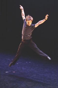NYCB's Daniel Ulbricht. Photo by Matthew Murphy.  Took a creative movement class with him at the Kennedy Center... AMAZING.