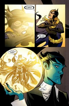 Klarion the Witch Boy and Batgirl (Stephanie Brown).