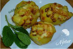 Gefüllte Kartoffeln mit 2 Füllungen/Ici dolgulu Patates /meinerezepte