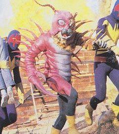 Mukadetiger - Revived Gel-Shocker Kaijin