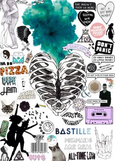 I LOVE Bastille. I've been listening to them soooooo much lately. The lead singers voice is so unique and edgy yet soft and smooth. I dunno, but they're my new obsession ;)