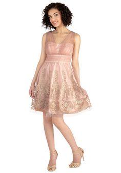 Layered Petit Fours Dress | Mod Retro Vintage Dresses | ModCloth.com.  Plus sizes.  $170
