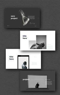 ZERO PowerPoint Template - Keynote - Ideas of Keynote - Zero Presentation Template ZERO PowerPoint Template - Keynote - Ideas of Keynote - Zero Presentation Template Design Presentation, Portfolio Presentation, Presentation Templates, Portfolio Design Layouts, Template Portfolio, Portfolio Ideas, Creative Portfolio, Graphisches Design, Book Design
