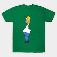 Would you like Homer to sneak out of your shirt? Then this is what you need! Go here: bestofsimpson.com/homer-tee #homersimpson #thesimpson #bestofsimpsons