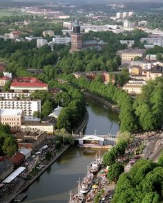 Turku, Finland - need to go here Places To Travel, Places To See, Places Ive Been, Lappland, Helsinki, Wonderful Places, Beautiful Places, Turku Finland, Scandinavian Countries