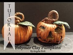 Polymer Clay Pumpkin Tutorial