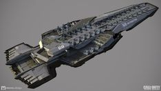 ArtStation - Call of Duty Infinite Warfare - Retribution Overview, Mike Hill Spaceship Art, Spaceship Design, Call Of Duty Infinite, Starship Concept, Sci Fi Spaceships, Space Engineers, Capital Ship, Concept Art World, Sci Fi Ships