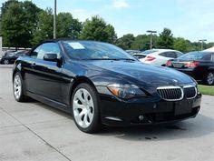 2006 BMW 650I  68500 miles, Black exterior color with a Beige interior, 4.8L V8 FI DOHC 32V Engine, Automatic Transmission