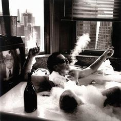 Bono - Bath in NYC, 1992 by Anton Corbijn by lalibra82, via Flickr