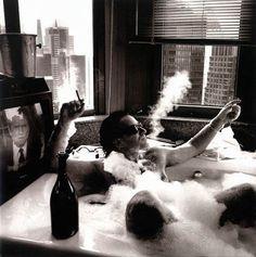 Bono - Bath in NYC, 1992 by Anton Corbijn by lalibra82, via Flickr