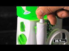 How To Use a Waterpik® Water Flosser For Kids, floss, flossing, braces, children, teeth, oral health, dental floss