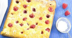 White Chocolate Brownies, Blondies, Delicious Desserts, Raspberry, Bread, Baking, Cake, Ethnic Recipes, Food