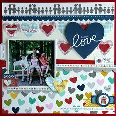 Family Love *My Creative Scrapbook* - Scrapbook.com