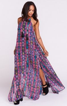 Bronte Maxi Dress ~ Oh My Boa
