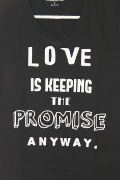 The Fault In Our Stars Quote Tshirt Love Is by PaintNPrintz