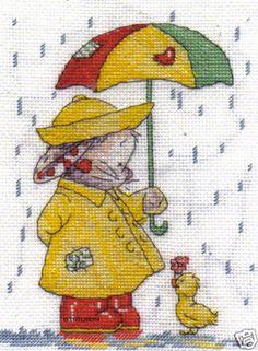 DMC-Somebunny-To-Love-Cross-Stitch-Kit-April-Showers