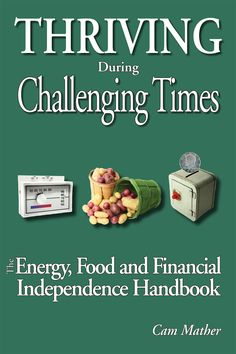 Living off the grid is a little too far for me, but this book has great ideas for moving towards independence.