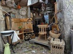 La hutte de Hagrid le sorcier