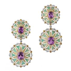 Buccellati earrings http://www.vogue.com