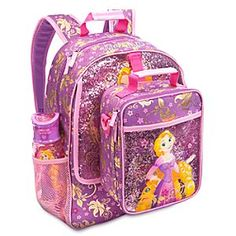 Disney Rapunzel Gear Up Collection Girl Backpacks, School Backpacks, Disney Rapunzel, Princess Rapunzel, Unicorn Bedroom Accessories, Minnie Mouse Backpack, Baby Alive Dolls, Toddler Backpack, Baby Girl Toys