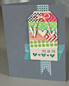 Stamping with Kim: Mother's Day Card, Washi Tape
