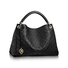 LOUIS VUITTON Artsy Mm. #louisvuitton #bags #leather #lining #charm #accessories #
