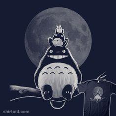 Forest Spirits #anime #film #moon #movie #myneighbortotoro #nasken #totoro