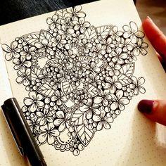 #draw #drawing #dessin #monptitbordel #littlething #doodle #flower