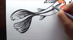 How to Draw A Koi Fish (Simple and Easy Illustration) - YouTube