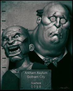 Ventriloquist Batman Arkham City