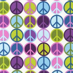 my three fav colors and peace signs!