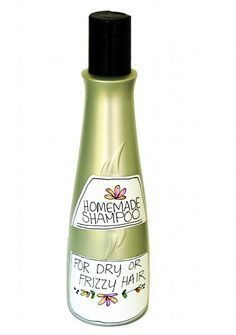 Natural Gentle Homemade Shampoo Recipe for Dry, Frizzy or Ethnic Hair -  SLS and Detergent Free