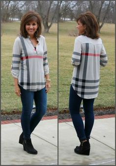 Fashionable over 50 fall outfits ideas 128 #women'sover50fashionstyles #FashionTipsforWomenOver50