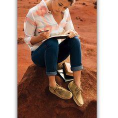 The all-new women's Poko is a fun, stylish, modern chukka #FallStyle