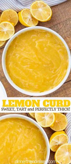 Curd is tart and creamy made with ONLY 4 ingredients, perfect for dessert or brunch and ready in under 30 minutes!Lemon Curd is tart and creamy made with ONLY 4 ingredients, perfect for dessert or brunch and ready in under 30 minutes! Lemon Curd Pie, Microwave Lemon Curd, Easy Lemon Curd, Lemon Curd Filling, Lemon Curd Dessert, Lemon Custard, Brunch, Cake Filling Recipes, Lemon Cake Recipes