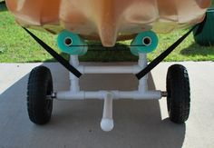 Kayak Tips Palmetto Kayak Fishing: DIY Bulletproof Kayak Cart - Build Instructions Pics Kayak Fishing Gear, Canoe And Kayak, Best Fishing, Kids Kayak, Fishing Stuff, Fly Fishing, Kayaking Outfit, Kayaking Tips, Kayaks