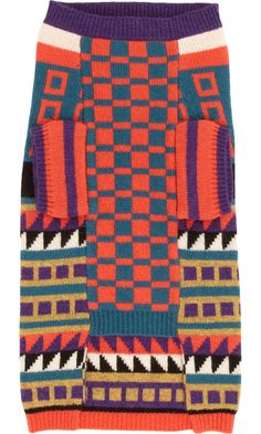 WARE of the DOG Intarsia Knit Dog Sweater