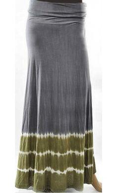 Tie-Dye Maxi Skirt - Apostolic Clothing