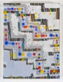 Keltie Ferris, +-+-+-, 2012 Oil, acrylic and pastel on canvas, 24 by 18 in. Contemporary Paintings, Painting & Drawing, Art History, Paint Colors, Original Artwork, Modern Art, Abstract Art, Quilts, Wall Art