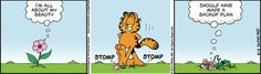 Garfield Cartoon for May/19/2012