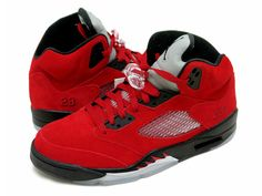 Model: Air Jordan , Air Jordan 5 (V) Original Purpose: Basketball Colorway: Varsity Red / Black Style Code: 360968-991 Release Date: May 23, 2009 News & Updates: Air Jordan Buy It Now: Available now on eBay