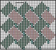 May 13, 2018 - Stitch 32 Diagonal Wide Plait — Wonderful Stitches #colourcomplements #beginnerstitchers