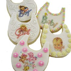 Sweet Baby Cookies How-To, Make Baby Shower Cookies With Edible Images