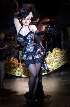 Very Burlesque! I love it!! Repinned from  Artistic and delicious costumes by Cristie Evangelista