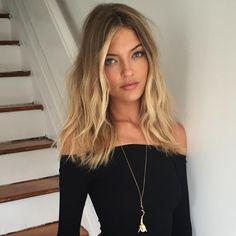 Honey-Blonde Balayage for Dark-Blonde Hair