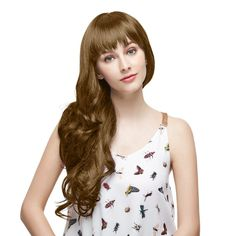 7pcs Body Wavy Clip In Remy Hair Extensions #8 Light Brown #lightbrown #clipinhairextension